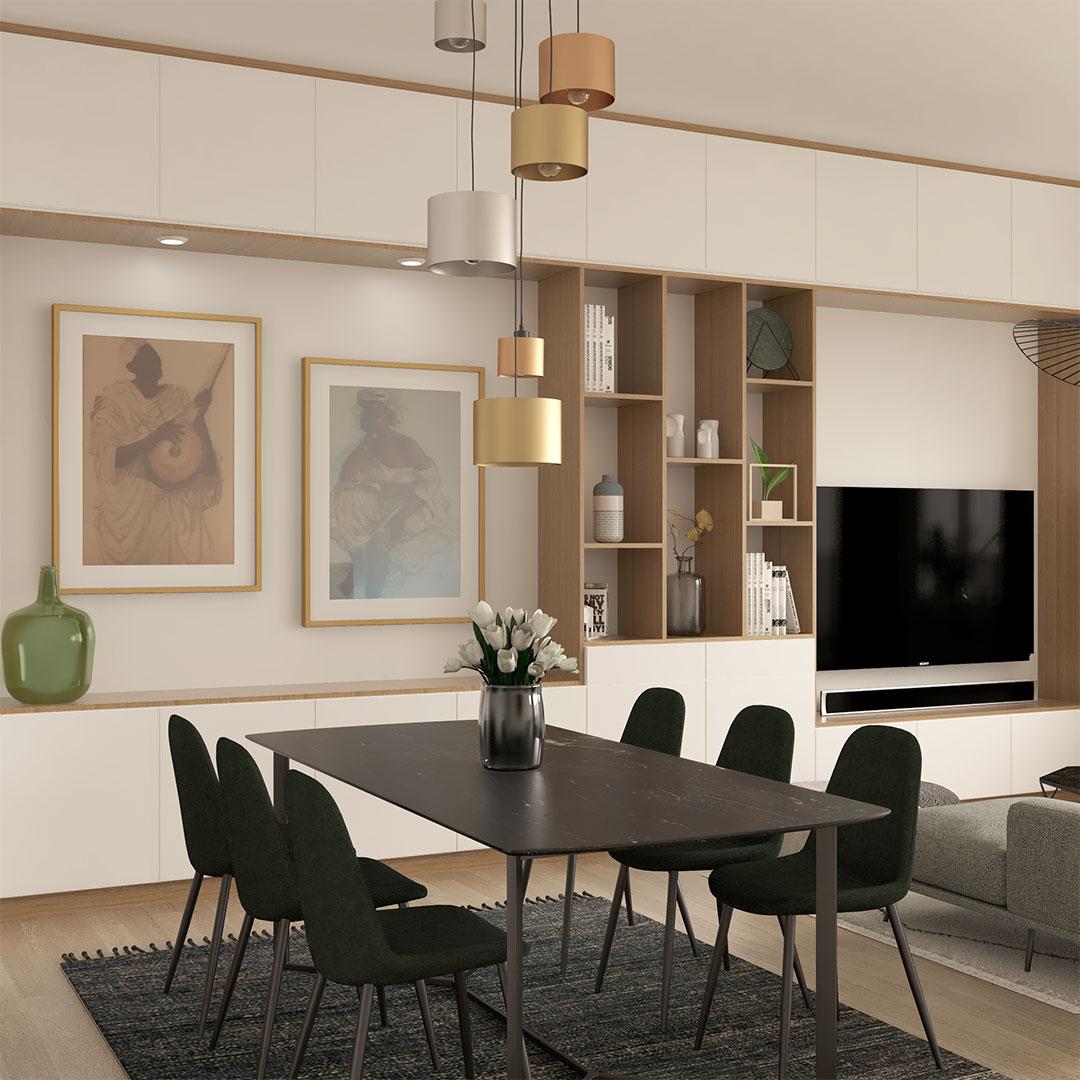 meuble-mural-salle-a-manger-maisonetvous